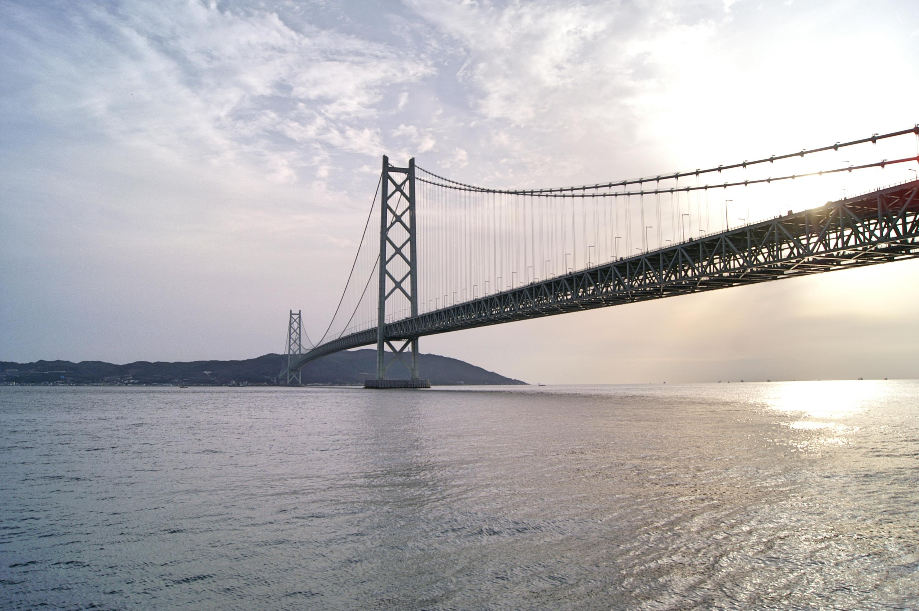 Akashi Kaikyo Ōhashi Suspension Bridge – 明石海峡大橋